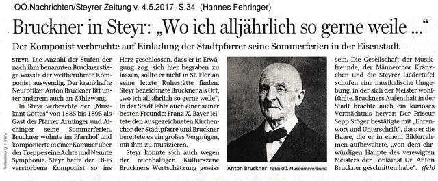 1885-1895 Bruckner Gast in Steyr