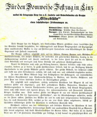 1924-05-01 - Domweihe-Festzug Programm (1)