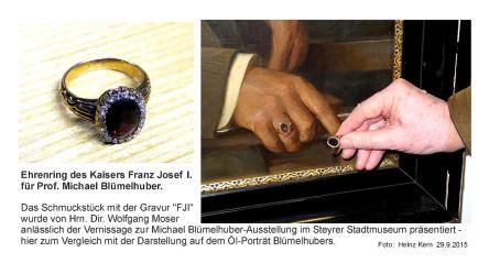 Michael Blümelhuber.Ehrenring d.Kaisers (1)