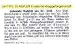 1915-06 - Dr. Zottl.Kriegsgefangenschaft