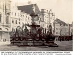1920ca - Leopoldibrunnen im Schmuck (Ignaz Schroff)