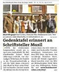 2013 Musil Gedenktafel