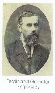 Ferdinand Gründler.1831.1905