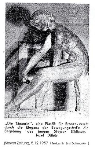 1957 - Jos. Diethör.Tänzerin