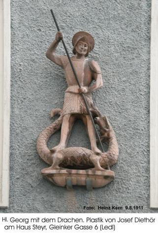 J.Diethör - Hl. Georg m.d.Drachen