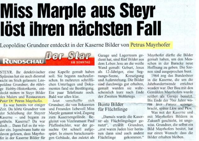 Kasernenbilder.Mayrhofer.2000