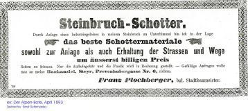 1893.Werbung.Plochberger