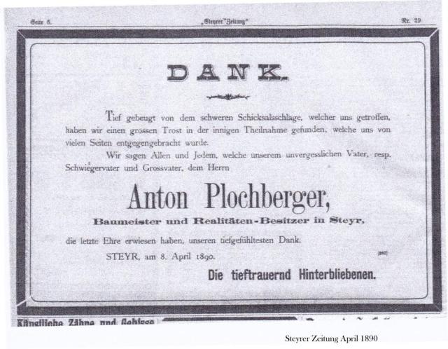 Plochberger.Dankanzeige.1890