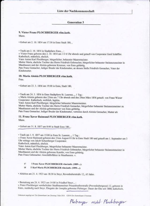 Plochberger.Verwandtschaftsverhaeltnisse.text