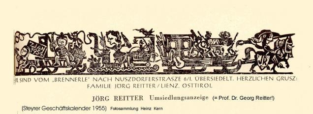 1954-04-30 - Kunstverein-Ausstellung.Georg Reitter