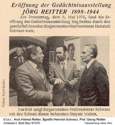 1976-05-06 - Georg Reitter Ausst.Vater Jörg