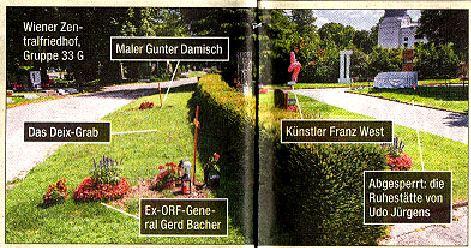 Damisch.Ehrengrab Zentralfriedhof