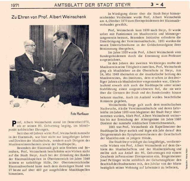 1971-02 - Amtsbl(02-03) - Prof.Weinschenk