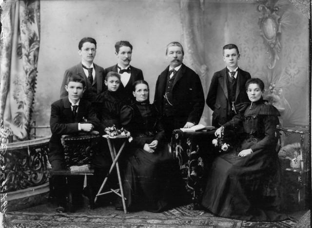 Familienbild Freihofner