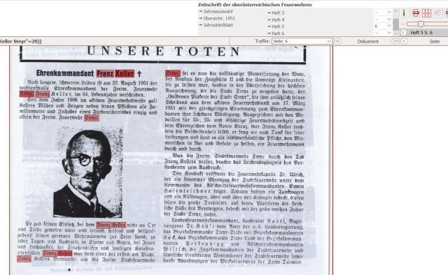 1951 Tod FFZeitung