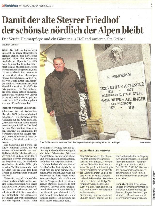 2012-10-31 - Heimatpflege.Friedhof.Schimanko