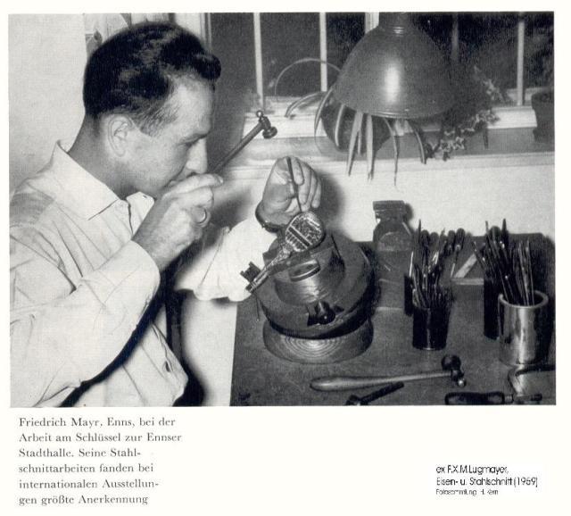 1959ca - Friedrich Mayr.Stahlschnitt